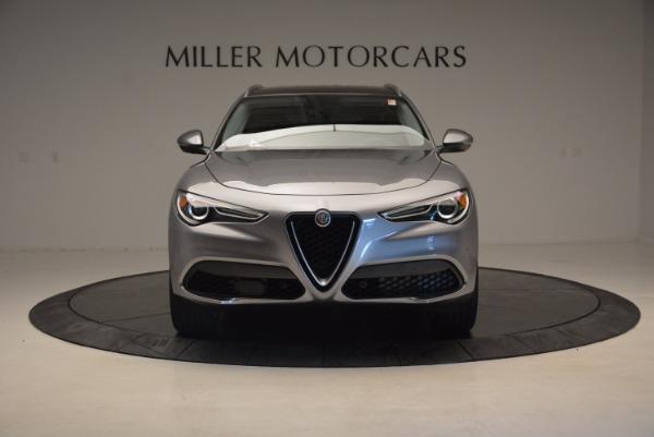 New 2018 Alfa Romeo Stelvio Q4 for sale Sold at Aston Martin of Greenwich in Greenwich CT 06830 12