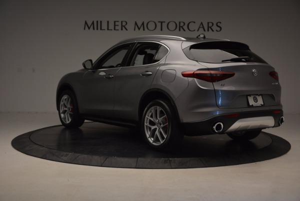 New 2018 Alfa Romeo Stelvio Q4 for sale Sold at Aston Martin of Greenwich in Greenwich CT 06830 5