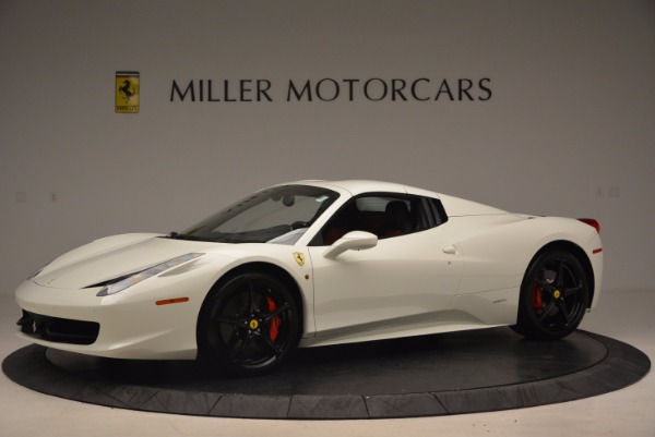 Used 2015 Ferrari 458 Spider for sale Sold at Aston Martin of Greenwich in Greenwich CT 06830 14