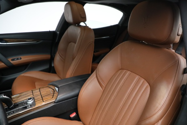 Used 2018 Maserati Ghibli S Q4 GranLusso for sale $56,900 at Aston Martin of Greenwich in Greenwich CT 06830 13