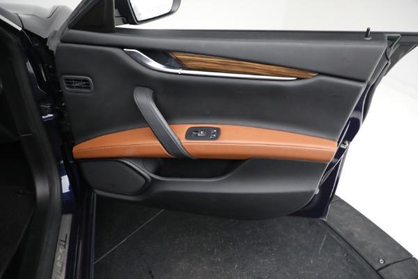Used 2018 Maserati Ghibli S Q4 GranLusso for sale $56,900 at Aston Martin of Greenwich in Greenwich CT 06830 22