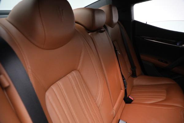 Used 2018 Maserati Ghibli S Q4 GranLusso for sale $56,900 at Aston Martin of Greenwich in Greenwich CT 06830 25