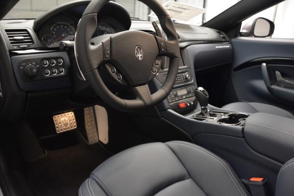 New 2016 Maserati GranTurismo Convertible Sport for sale Sold at Aston Martin of Greenwich in Greenwich CT 06830 19