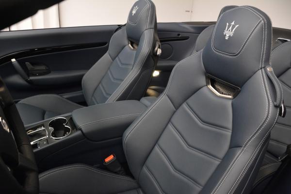 New 2016 Maserati GranTurismo Convertible Sport for sale Sold at Aston Martin of Greenwich in Greenwich CT 06830 22