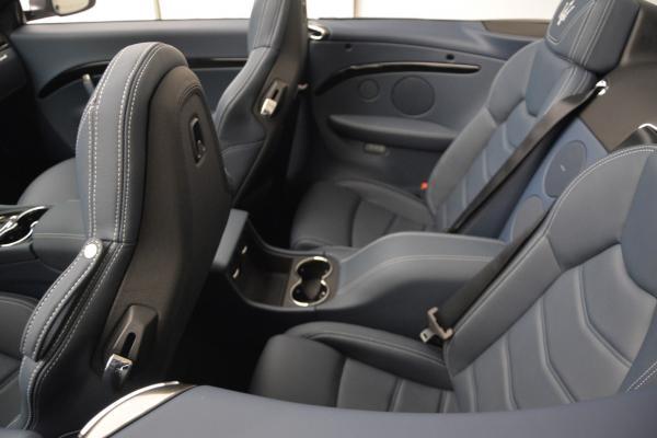 New 2016 Maserati GranTurismo Convertible Sport for sale Sold at Aston Martin of Greenwich in Greenwich CT 06830 24