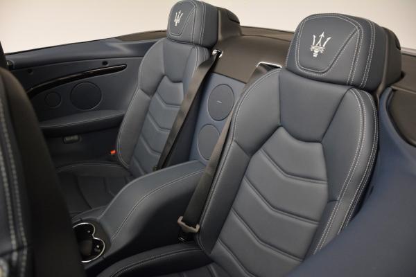 New 2016 Maserati GranTurismo Convertible Sport for sale Sold at Aston Martin of Greenwich in Greenwich CT 06830 26