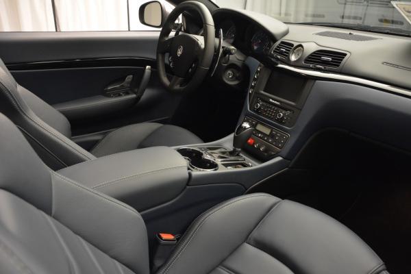 New 2016 Maserati GranTurismo Convertible Sport for sale Sold at Aston Martin of Greenwich in Greenwich CT 06830 27