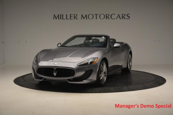 New 2016 Maserati GranTurismo Convertible Sport for sale Sold at Aston Martin of Greenwich in Greenwich CT 06830 1