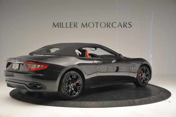 New 2016 Maserati GranTurismo Convertible Sport for sale Sold at Aston Martin of Greenwich in Greenwich CT 06830 16
