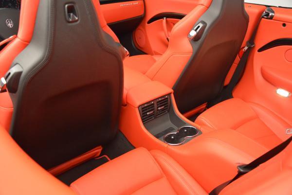 New 2016 Maserati GranTurismo Convertible Sport for sale Sold at Aston Martin of Greenwich in Greenwich CT 06830 28