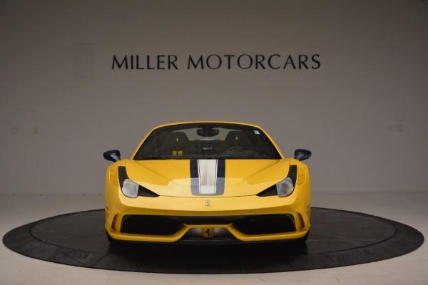 Used 2015 Ferrari 458 Speciale Aperta for sale Sold at Aston Martin of Greenwich in Greenwich CT 06830 12
