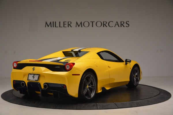 Used 2015 Ferrari 458 Speciale Aperta for sale Sold at Aston Martin of Greenwich in Greenwich CT 06830 17