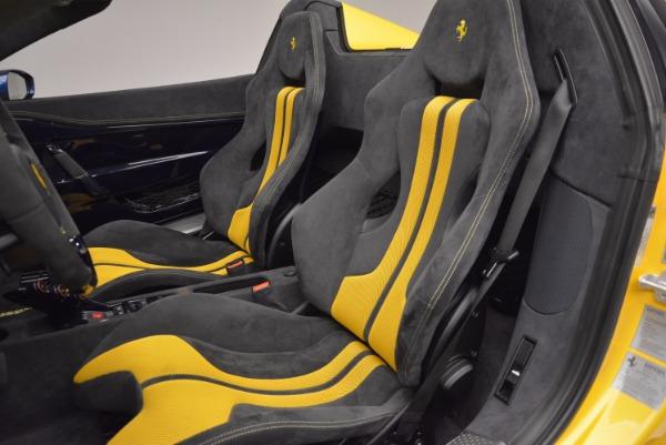Used 2015 Ferrari 458 Speciale Aperta for sale Sold at Aston Martin of Greenwich in Greenwich CT 06830 23