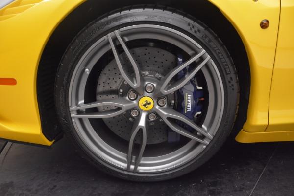 Used 2015 Ferrari 458 Speciale Aperta for sale Sold at Aston Martin of Greenwich in Greenwich CT 06830 28