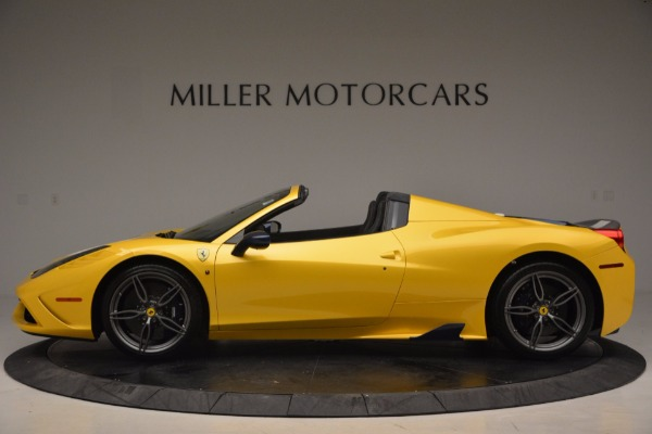 Used 2015 Ferrari 458 Speciale Aperta for sale Sold at Aston Martin of Greenwich in Greenwich CT 06830 3
