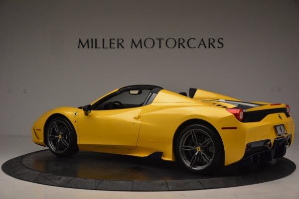 Used 2015 Ferrari 458 Speciale Aperta for sale Sold at Aston Martin of Greenwich in Greenwich CT 06830 4
