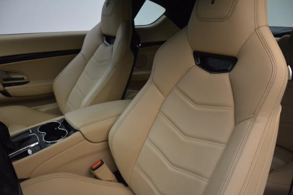 Used 2015 Maserati GranTurismo Sport Coupe for sale Sold at Aston Martin of Greenwich in Greenwich CT 06830 15