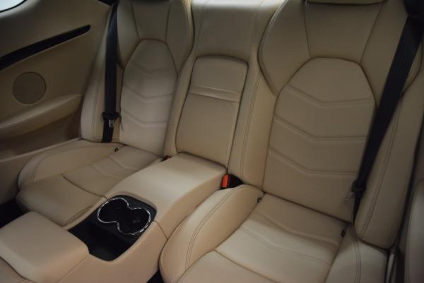 Used 2015 Maserati GranTurismo Sport Coupe for sale Sold at Aston Martin of Greenwich in Greenwich CT 06830 16