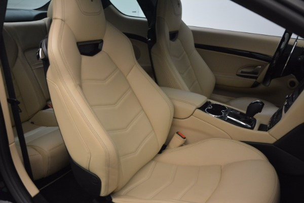 Used 2015 Maserati GranTurismo Sport Coupe for sale Sold at Aston Martin of Greenwich in Greenwich CT 06830 24