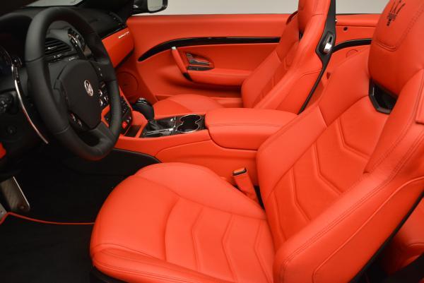New 2017 Maserati GranTurismo Convertible Sport for sale Sold at Aston Martin of Greenwich in Greenwich CT 06830 18