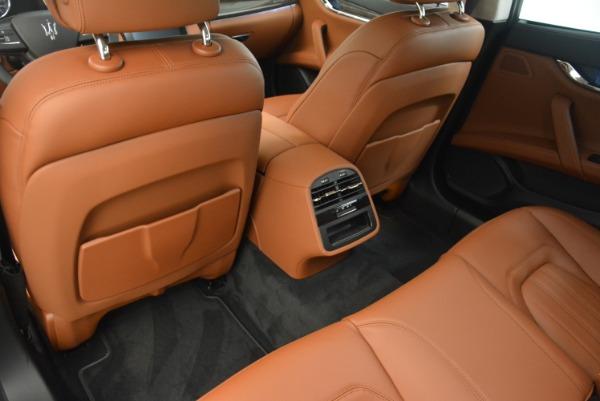 Used 2018 Maserati Quattroporte S Q4 GranLusso for sale Sold at Aston Martin of Greenwich in Greenwich CT 06830 17