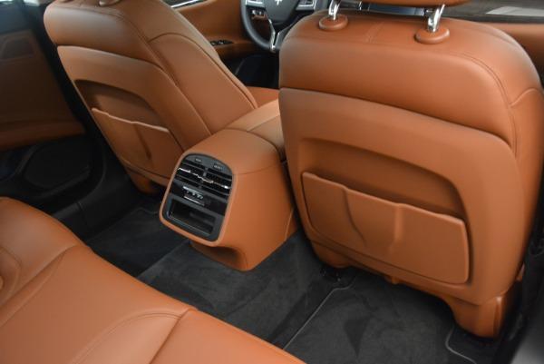 Used 2018 Maserati Quattroporte S Q4 GranLusso for sale Sold at Aston Martin of Greenwich in Greenwich CT 06830 21