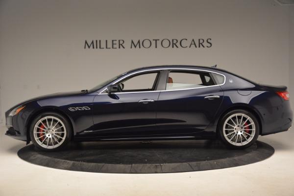 Used 2018 Maserati Quattroporte S Q4 GranLusso for sale Sold at Aston Martin of Greenwich in Greenwich CT 06830 3