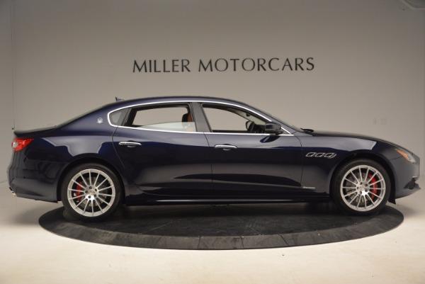 Used 2018 Maserati Quattroporte S Q4 GranLusso for sale Sold at Aston Martin of Greenwich in Greenwich CT 06830 9