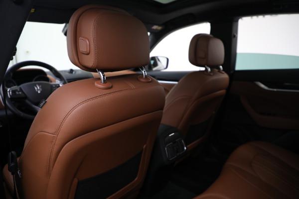 Used 2018 Maserati Levante Q4 for sale $57,900 at Aston Martin of Greenwich in Greenwich CT 06830 19