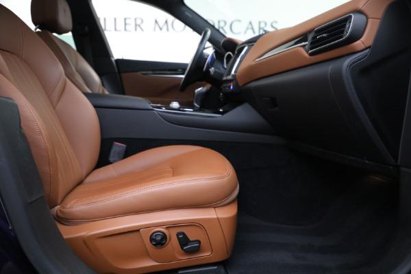 Used 2018 Maserati Levante Q4 for sale $57,900 at Aston Martin of Greenwich in Greenwich CT 06830 22