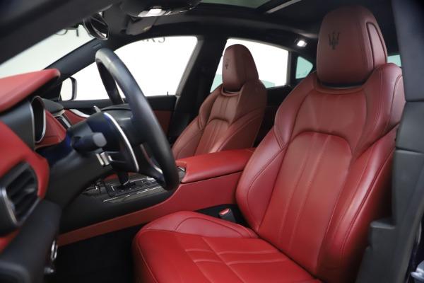 New 2018 Maserati Levante S GranSport for sale Sold at Aston Martin of Greenwich in Greenwich CT 06830 14