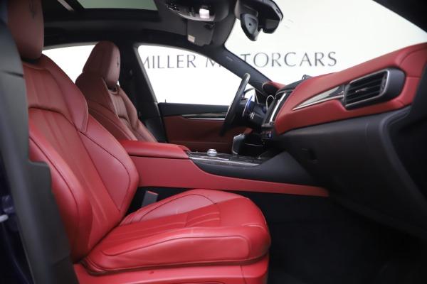 New 2018 Maserati Levante S GranSport for sale Sold at Aston Martin of Greenwich in Greenwich CT 06830 23