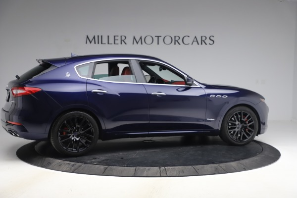 New 2018 Maserati Levante S GranSport for sale Sold at Aston Martin of Greenwich in Greenwich CT 06830 9