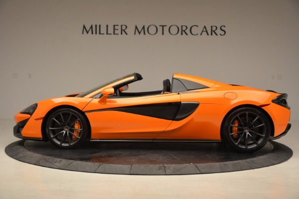 New 2018 McLaren 570S Spider for sale Sold at Aston Martin of Greenwich in Greenwich CT 06830 3