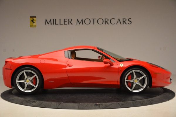 Used 2012 Ferrari 458 Spider for sale Sold at Aston Martin of Greenwich in Greenwich CT 06830 21