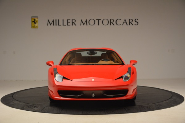 Used 2012 Ferrari 458 Spider for sale Sold at Aston Martin of Greenwich in Greenwich CT 06830 24