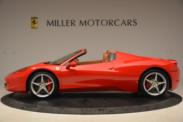 Used 2012 Ferrari 458 Spider for sale Sold at Aston Martin of Greenwich in Greenwich CT 06830 3