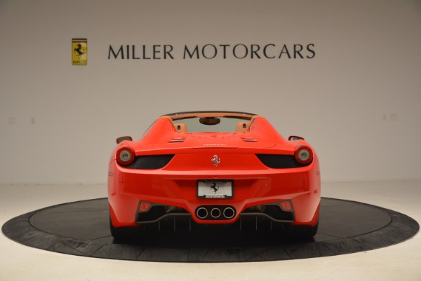 Used 2012 Ferrari 458 Spider for sale Sold at Aston Martin of Greenwich in Greenwich CT 06830 6