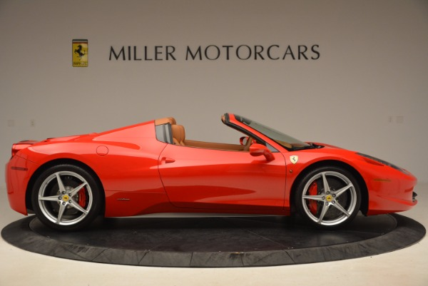 Used 2012 Ferrari 458 Spider for sale Sold at Aston Martin of Greenwich in Greenwich CT 06830 9