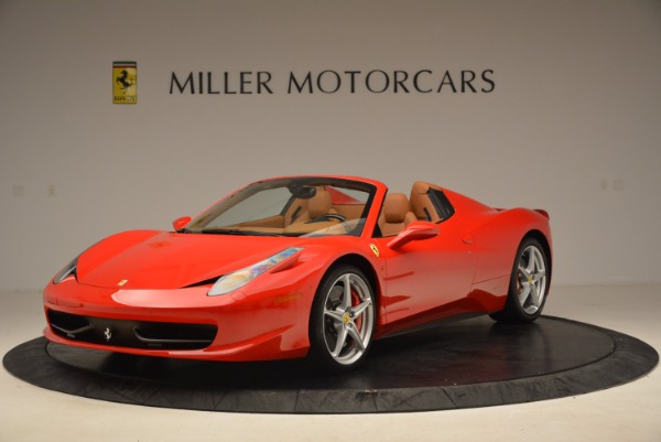 Used 2012 Ferrari 458 Spider for sale Sold at Aston Martin of Greenwich in Greenwich CT 06830 1