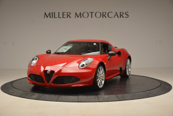 New 2018 Alfa Romeo 4C Coupe for sale Sold at Aston Martin of Greenwich in Greenwich CT 06830 1