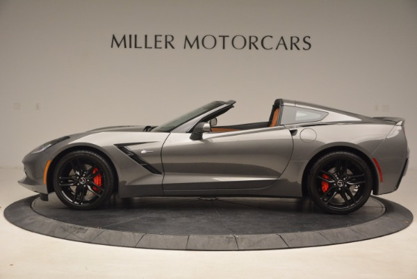 Used 2015 Chevrolet Corvette Stingray Z51 for sale Sold at Aston Martin of Greenwich in Greenwich CT 06830 3