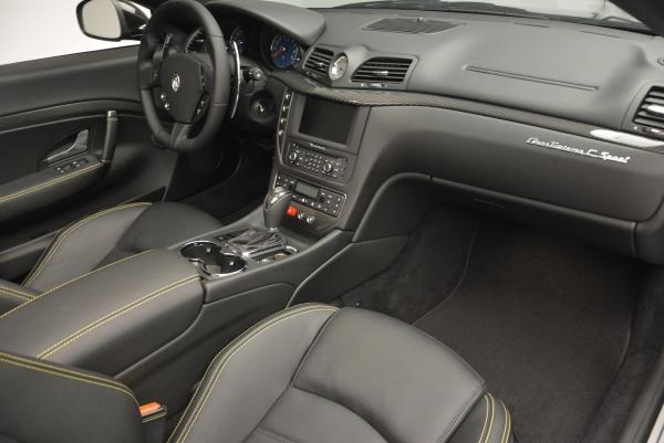 New 2017 Maserati GranTurismo Convertible Sport for sale Sold at Aston Martin of Greenwich in Greenwich CT 06830 25