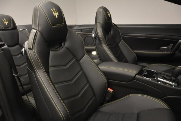 New 2017 Maserati GranTurismo Convertible Sport for sale Sold at Aston Martin of Greenwich in Greenwich CT 06830 27