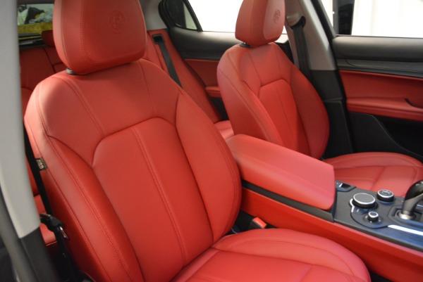 New 2018 Alfa Romeo Stelvio Q4 for sale Sold at Aston Martin of Greenwich in Greenwich CT 06830 18
