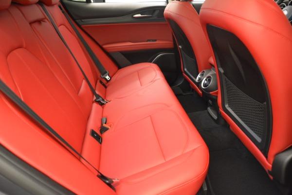 New 2018 Alfa Romeo Stelvio Q4 for sale Sold at Aston Martin of Greenwich in Greenwich CT 06830 20