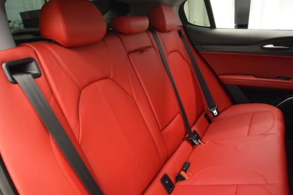 New 2018 Alfa Romeo Stelvio Q4 for sale Sold at Aston Martin of Greenwich in Greenwich CT 06830 21