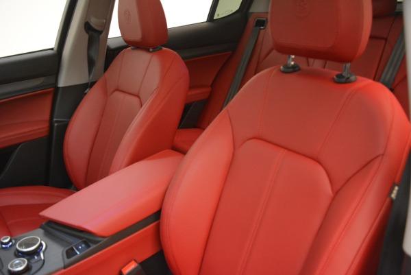 New 2018 Alfa Romeo Stelvio Ti Q4 for sale Sold at Aston Martin of Greenwich in Greenwich CT 06830 15