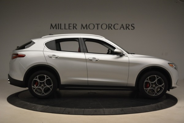 New 2018 Alfa Romeo Stelvio Ti Q4 for sale Sold at Aston Martin of Greenwich in Greenwich CT 06830 9
