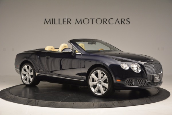Used 2012 Bentley Continental GTC for sale Sold at Aston Martin of Greenwich in Greenwich CT 06830 10